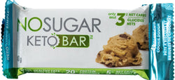 No Sugar Keto Bar - Cookie Dough (GF) (Plant-Based)
