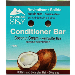 Coconut Cream Hair Conditioner Bar
