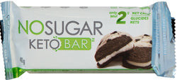 No Sugar Keto Bar - Cookies and Cream (GF)