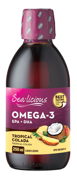 Sea-licious Omega-3 - Tropical Colada - 2 Sizes