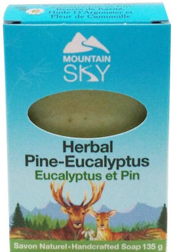 Mountain Sky Herbal Pine Eucalyptus Handcrafted Soap