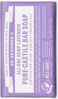 Castile Bar Soap - Lavender