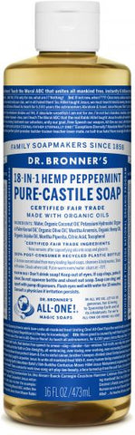 Castile Liquid Soap - Peppermint