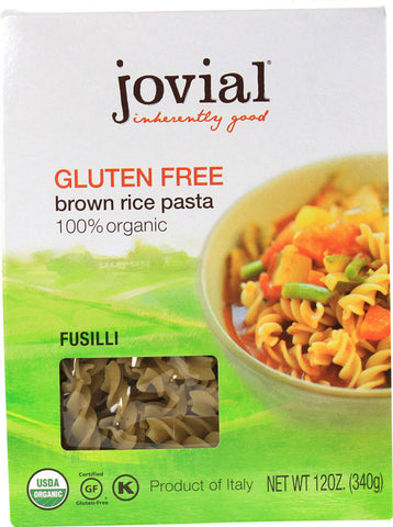 Fusilli Brown Rice (GF) (ORG)