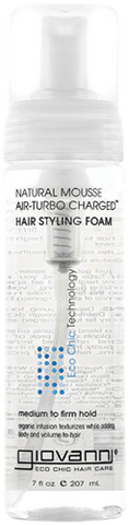 Air-Turbo Charged Natural Mousse