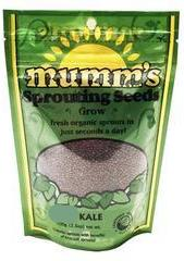 Mumm's Organic Sprouting Seeds - Green Kale