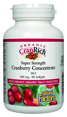CranRich® Organic Cranberry Softgels