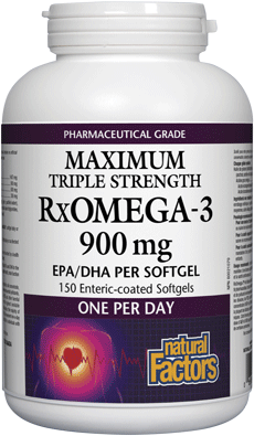 RxOmega-3 900 mg - Maximum Triple Strength
