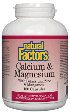 Calcium & Magnesium 1:1 Capsules with Vitamin D