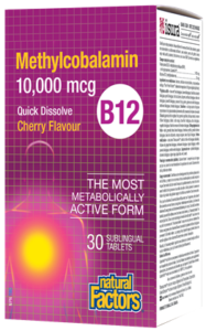 Vitamin B12 Methylcobalamin - 10,000mcg