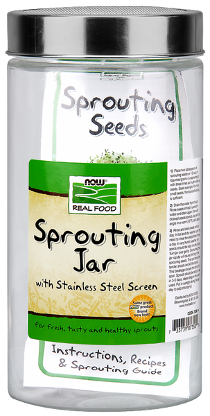 Glass Sprouting Jar 1.89L