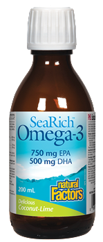 SeaRich Omega-3 - Available in 3 Flavours!