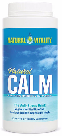 Natural Calm Unflavoured - Magnesium Citrate Powder