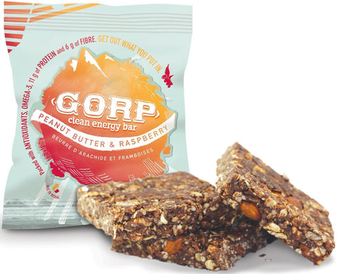 GORP Bars Peanut Butter & Raspberry