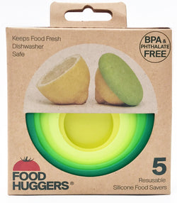 Silicon Food Huggers- Set of 5