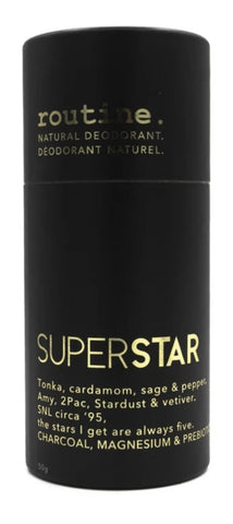 Routine Stick Deodorant SUPERSTAR (with Activated Charcoal) 50g