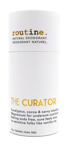 Routine Stick Deodorant The Curator (Baking Soda Free) 50g