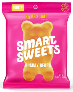 SmartSweets Fruit Gummy Bears - No Sugar Added