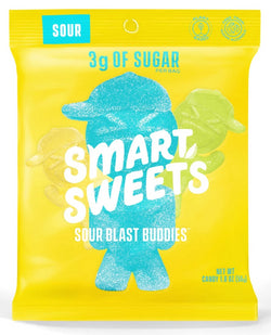 SmartSweets Sour Blast Buddies - No Sugar Added, Vegan