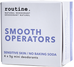Routine Cream Deodorant Smooth Operators Minis Kit