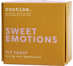 Routine Cream Deodorant Sweet Emotions Minis Kit
