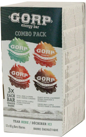 GORP Bars 4 Flavour Variety Box