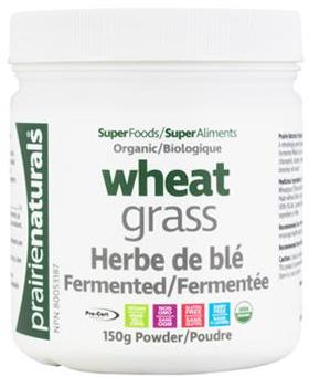 Organic & Fermented Wheat Grass
