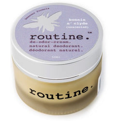 Routine Cream Deodorant Bonnie N' Clyde (Unscented) 58g