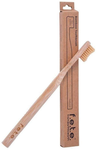 F.E.T.E Bamboo Toothbrush- Adult Firm