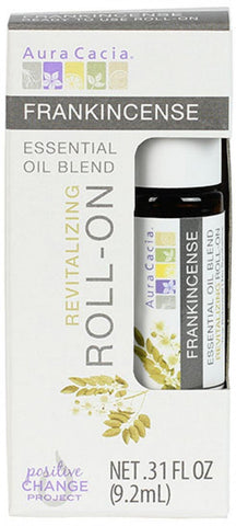 Frankincense Essential Oil Blend Revitalizing Roll-On