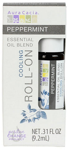Peppermint Essential Oil Blend Cooling Roll-On