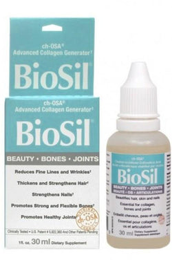 BioSil™ Choline-Stabilized Orthosilicic Acid (ch-OSA™) 30ml Drops