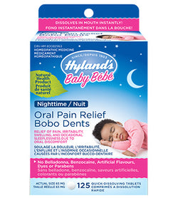 Baby Oral Pain Relief Nighttime