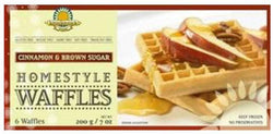 Homestyle Waffles Cinnamon & Brown Sugar (GF) *FROZEN*