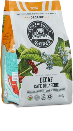 Frog Friendly Coffee Decaf