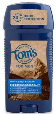 Men's Long Lasting Wide Stick Deodorant - Mountain Spring