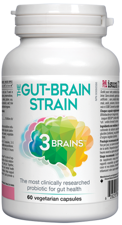 3 Brains Gut-Brain Strain Probiotic