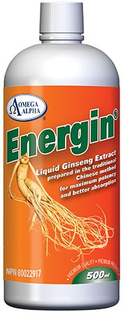 Omega Alpha Energin Liquid Ginseng 500ml