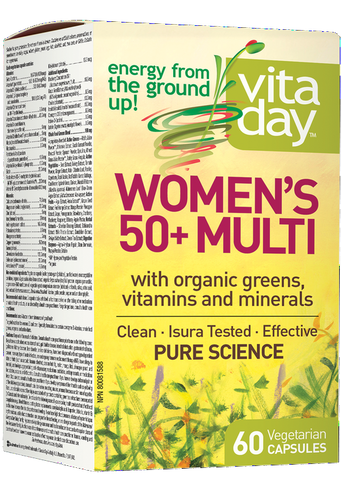 VitaDay Multi Organic Greens, Vitamins & Minerals - Women's 50+