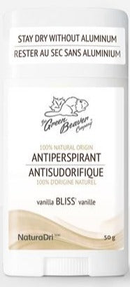Green Beaver Antiperspirant - Bliss (Coconut & Vanilla Scent)