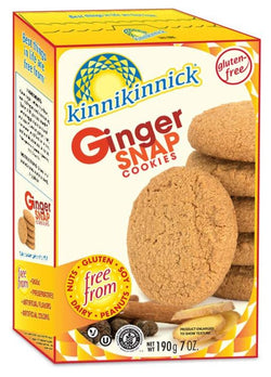 Ginger Snap Cookies (GF)