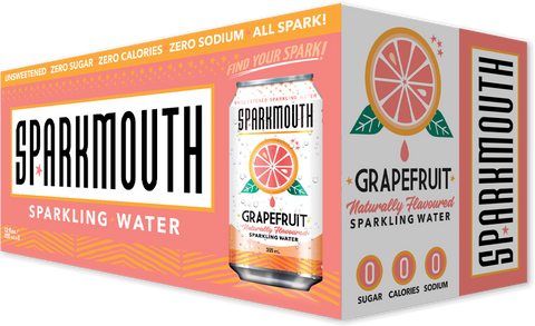 Sparkmouth Grapefruit Sparkling Water