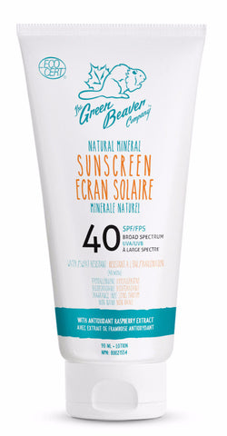 Green Beaver Natural Mineral Sunscreen Lotion SPF40