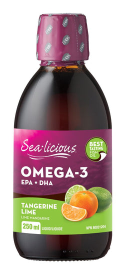Sea-licious Omega-3 - Tangerine Lime - 2 Sizes