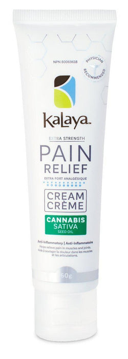Kalaya Pain Relief Cream with Cannabis Sativa Seed Oil