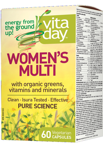 VitaDay Multi Organic Greens, Vitamins & Minerals - Women's