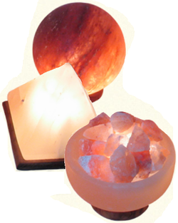 Himalayan Salt Lamps - Formed Shapes