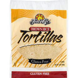 Tortillas, Brown Rice (GF) *FROZEN*