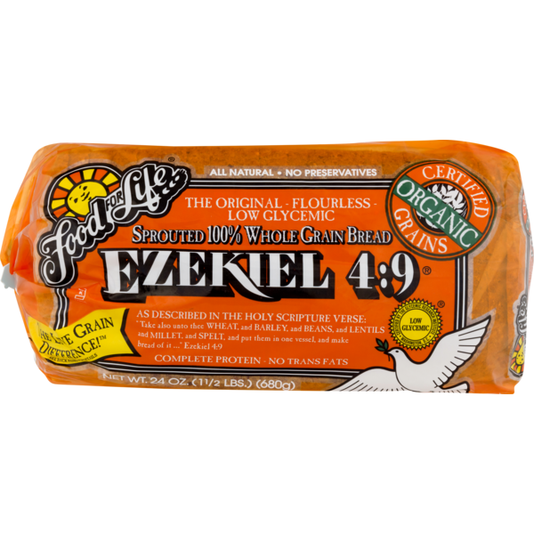 Bread Ezekiel Sprouted Grain Org Frozen Two Farm Kids Natural Foods
