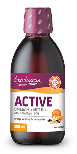 Sea-licious Active Omega-3 High EPA + MCT Oil